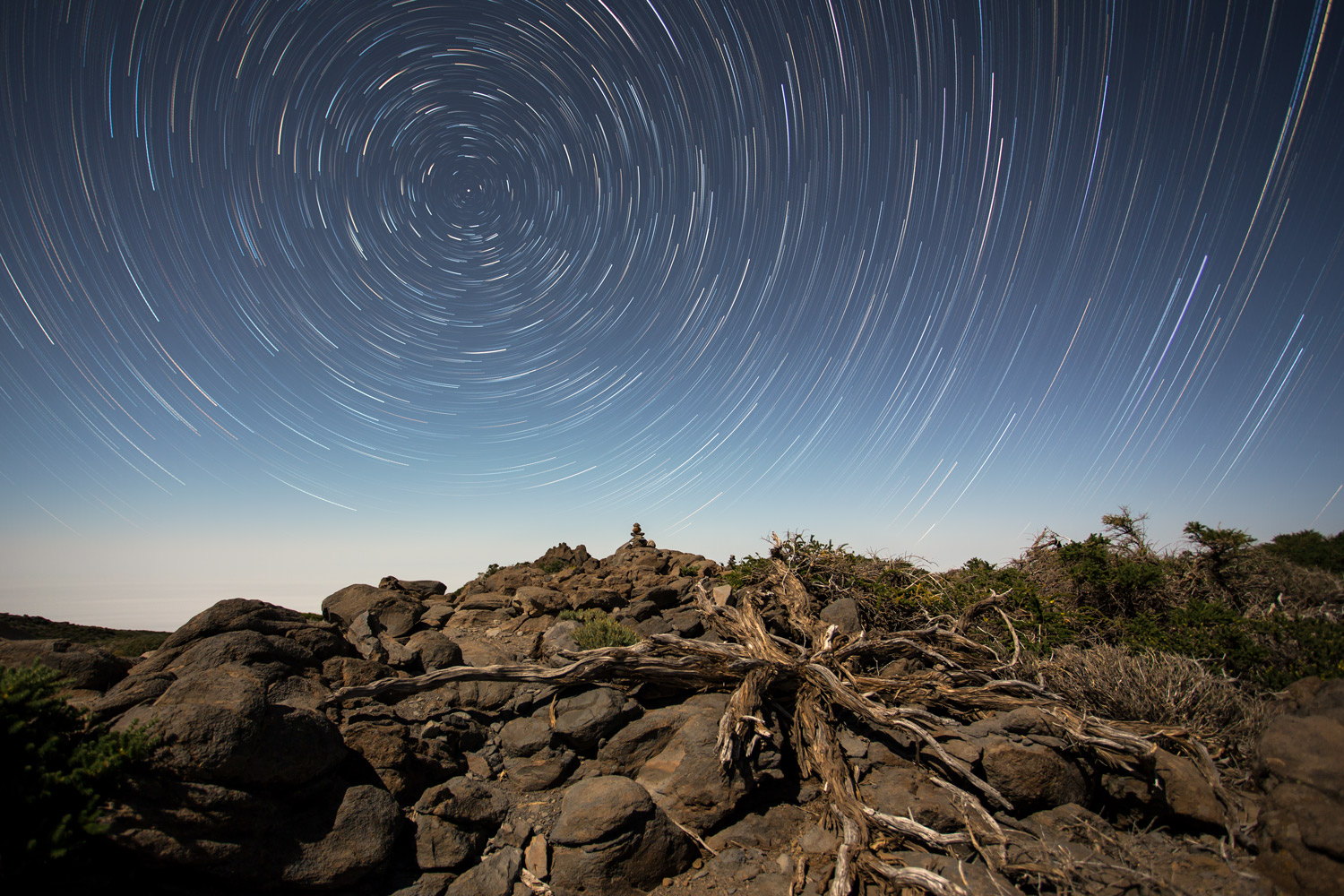 Startrail photography